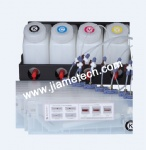 Bulk Ink System for 4 Color with 8 Ink Cartridge
